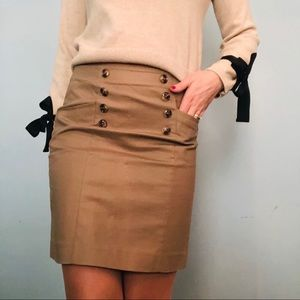 Banana Republic Khaki skirt
